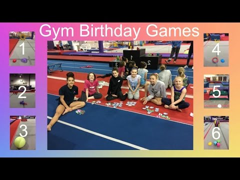 Birthday Games in the Gym | Coach Mary's Birthday | Gymscool