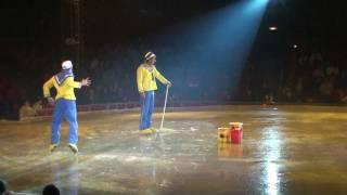 circo ruso sobre hielo payasos marineros