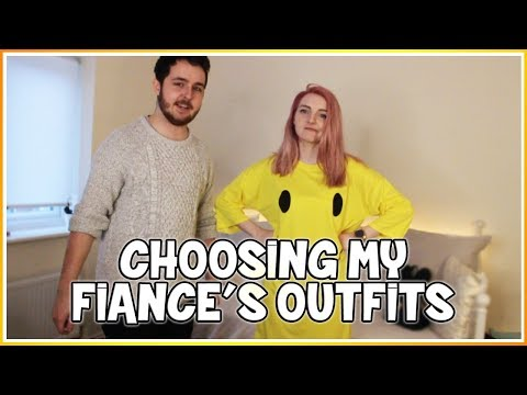 Choosing My Fiance's Outfits!
