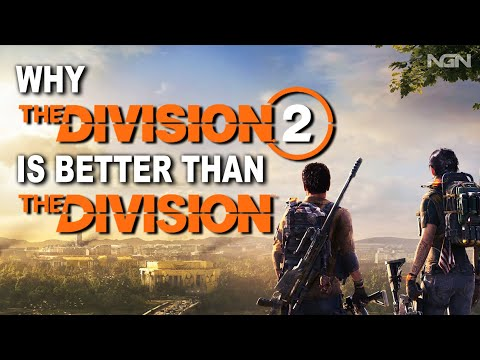 The Division 1 Vs The Division 2