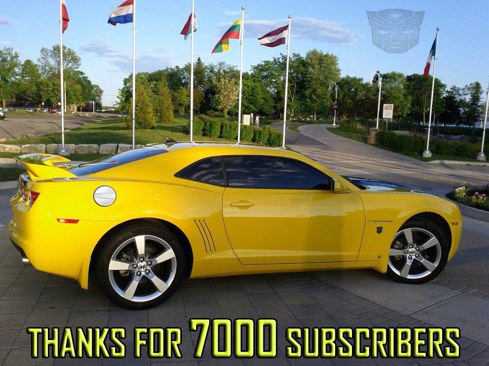 My Car  2010 Transformers Edition Camaro  7000 Subscribers