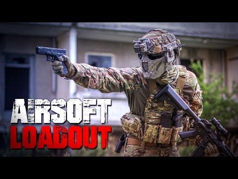 AIRSOFT: LOADOUT AUSRÜSTUNG 2016 - Multicam, Waffe M4 CQB, Glock GBB, Plate Carrier