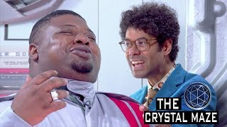 """""""I'M SO GASSED"""" The Celebrities enter the Crystal Maze and Enter Their First Challenge!"""