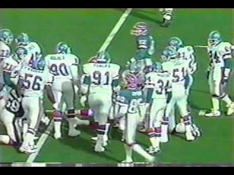 Bills vs Broncos 1991 AFC Champ pt1 of 8