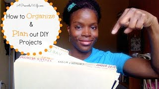 How To #organize & Plan Out #diy Projects