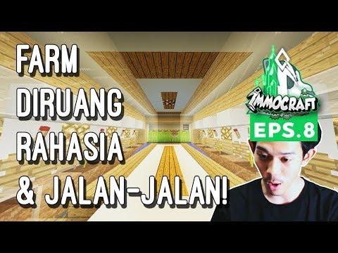 IMMOCRAFT - Farm Diruang Rahasia (Minecraft Survival Indonesia)