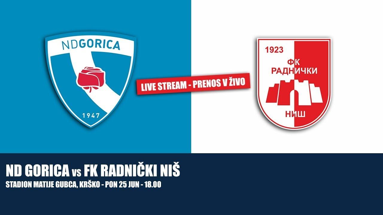 Live Stream Nd Gorica Fk Radnicki Nis Youtube