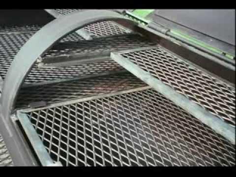 Просечно вытяжной лист - сетка  (Expanded metal mesh)