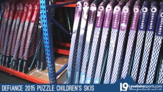 Defiance 2015 Children's Puzzle Skis