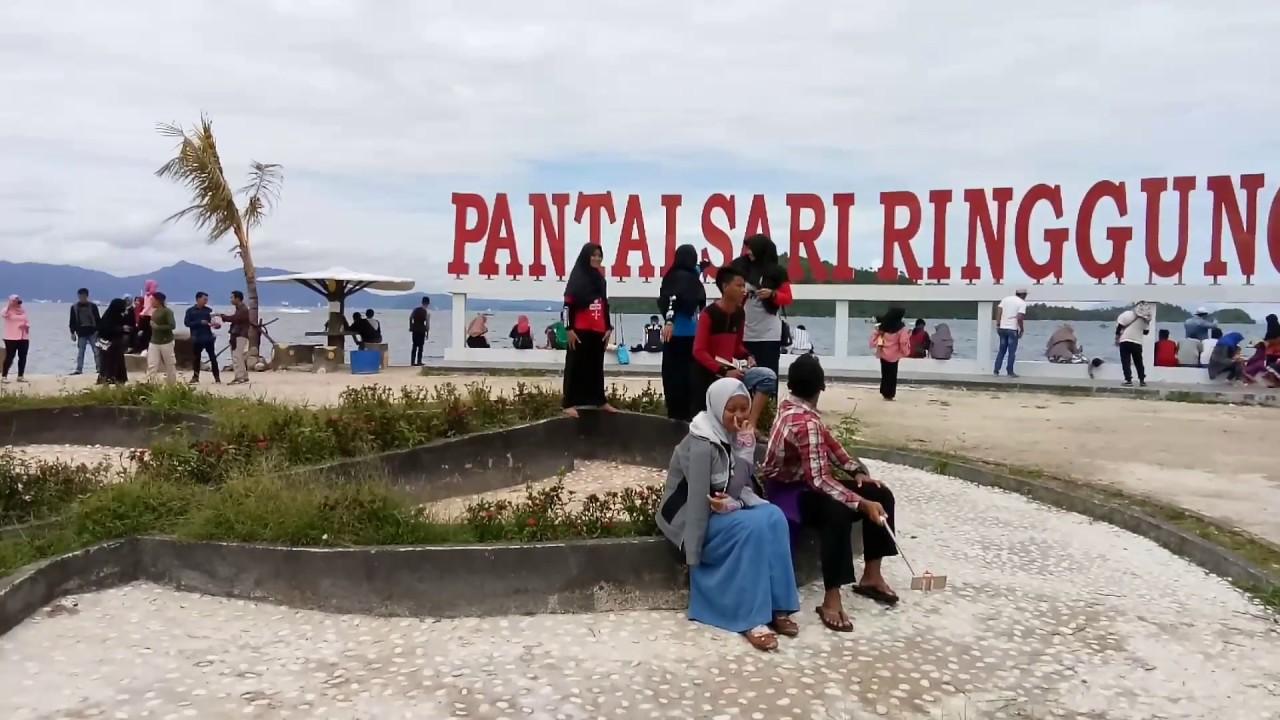 Tujuan Wisata Akhir Pekan Favorit Di Lampung Pantai Sari