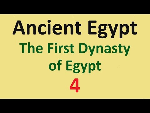 Ancient Egypt History - First Dynasty - 04