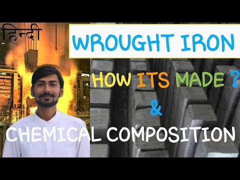 [HINDI] WROUGHT IRON ~ ALLOYING ELEMENTS, CHEMICAL COMPOSITION & IMPURITIES IN WROUGHT IRON