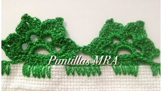 Puntilla para servilleta MRA 15