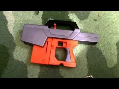 Young prepper's home made weapons