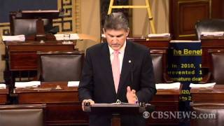 "Manchin on budget: ""Our president has failed to lead"""