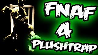 FNAF 4 Nightmare Springtrap? PLUSHTRAP REVEALED!    Five Nights at Freddy's 4 Plushtrap
