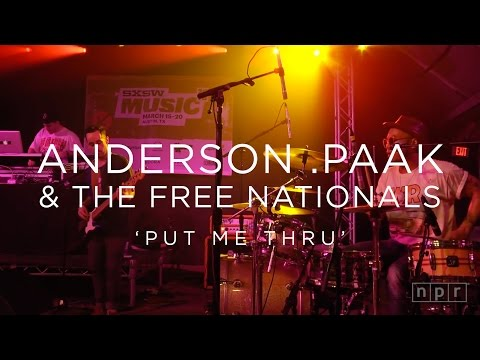 Anderson .Paak & The Free Nationals: 'Put Me Thru' SXSW 2016 | NPR MUSIC FRONT ROW