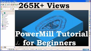 Delcam PowerMILL Training Tutorial - 1
