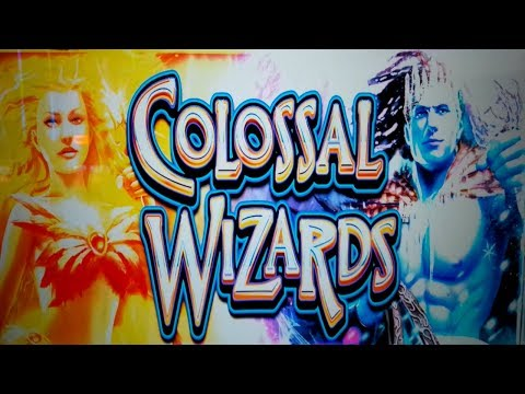 Colossal Wizards Slot - $10 Bet - GREAT LAST BONUS SPIN, YES!