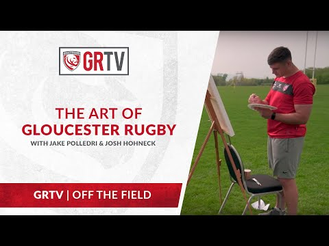 The Art of Gloucester Rugby - Painting with Jake Polledri and Josh Hohneck