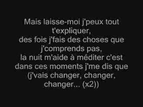 Maître Gims - Changer Paroles (lyrics)