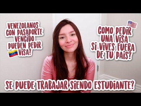 ¿Cómo Solicitamos La Visa Americana Siendo Venezolanos, Viviendo En Perú Y Con El Pasaporte Vencido?