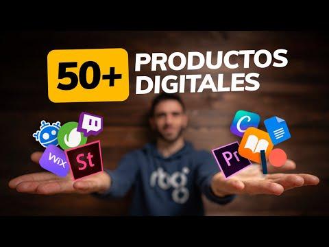 +50 IDEAS de PRODUCTOS DIGITALES para tu CANAL o proyecto