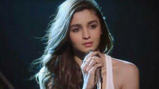 Alia Bhatt Sings Marathi Song-Ek Porga Baga Na.