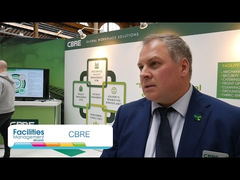 CBRE Global Workplace Solutions (GWS) at Facilities Management Ireland 2016