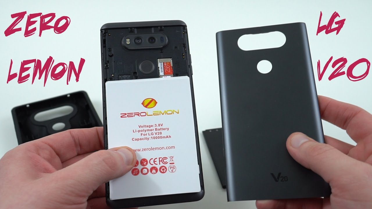 the best attitude a1e95 e687f The Last Great Battery Case? Zerolemon 10,000 mAh Case for LG V20