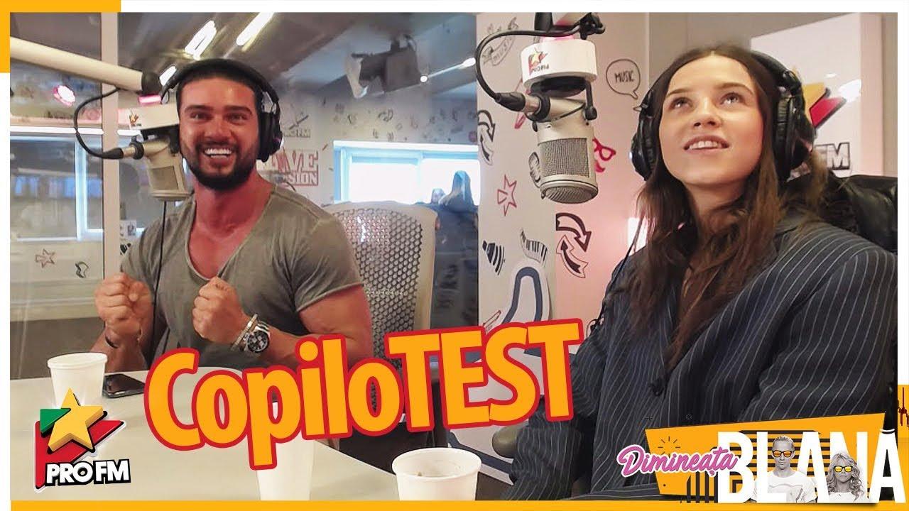 DORIAN POPA & IOANA IGNAT - CopiloTEST | #DimineataBlana