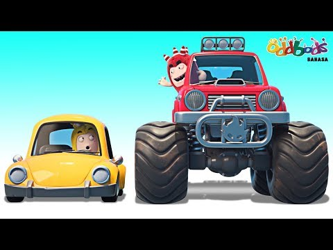 Oddbods | Bubble Mobil | Kartun Lucu Untuk Anak