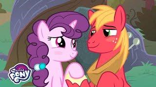 'Big Mac & Sugar Belle's Proposal' Official Clip 💒MLP: Friendship is Magic Season 9