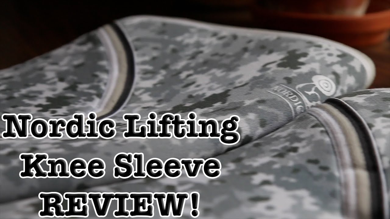 35391e247c Nordic Lifting - Camo Knee Sleeves Review - YouTube