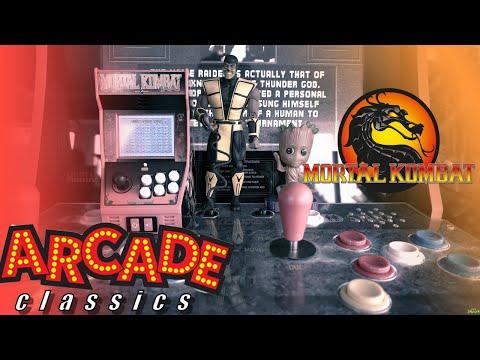 Mortal Kombat Arcade Classics Unboxed vs Scorpion and MK Arcade 1up from SLO SMASH'N