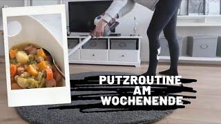 MEINE Putzroutine am WOCHENENDE  