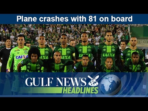 Plane crashes with 81 on board in central Colombia - GN Headlines