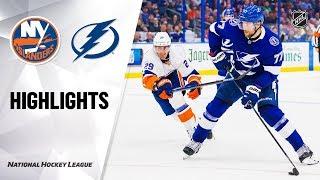 NHL Highlights | Islanders @ Lightning 12/9/19