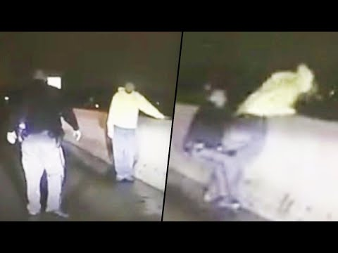 Adam Rivers - Ohio deputy stops man who tried to jump off highway overpass