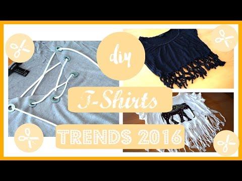 DIY T-Shirts - aus alt mach neu⎮Trends 2016 ⎮weeklyMel