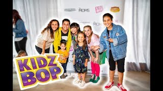 MEETING THE KIDZBOP KIDS!