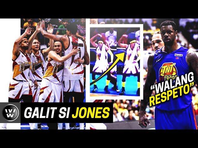 Terrence Jones, GALIT kay Santos | McCullough, Kampi kay TJ | SMB Beats TNT | PBA Finals Game 5
