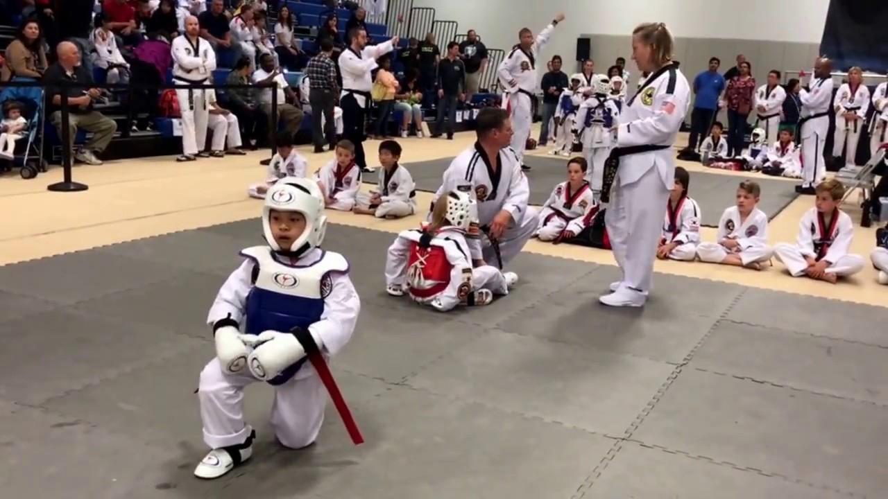 Taekwondo UWTA tournament April 2017