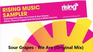 Sour Grapes - We Are (Original Mix) [HD]
