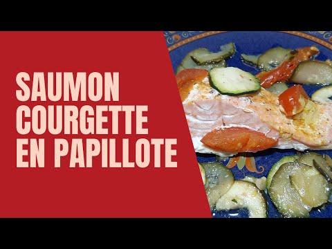recette-saumon-courgette-en-papillote