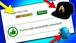 (*NEW*) JANUARY ALL WORKING PROMO CODES ON ROBLOX 2019| ROBLOX PROMO CODE (NOT EXPIRED)