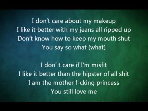 Avril Lavigne - Rock N Roll Instrumental / Karaoke (Lyrics)