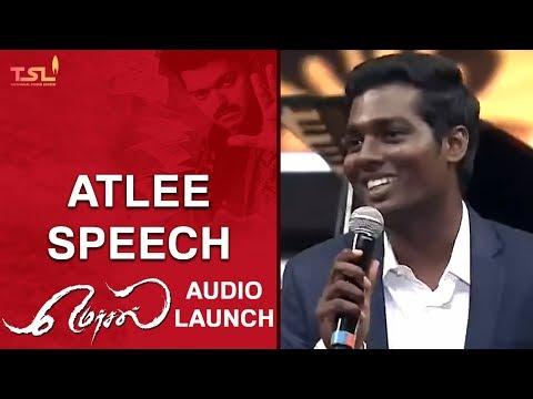 Mersal Teaser In Two Weeks | Atlee Speech | Mersal Audio Launch | Vijay | Sri Thenandal Films