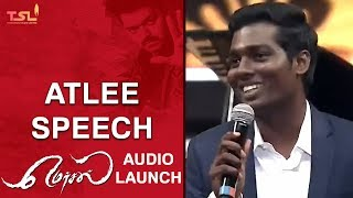 Mersal Teaser in two weeks | Atlee Speech | Mersal Audio Launch | Vijay