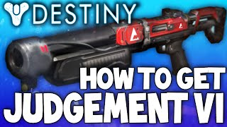 Destiny: The Judgement VI - Legendary Shotgun - Review & How To Get w/ Gameplay!
